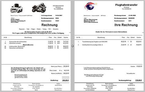Musterrechnung Für Kleingewerbe Ohne Umsatzsteuer Rechnungsprogramm Kleinunternehmer 167 19 Ustg Freeware De