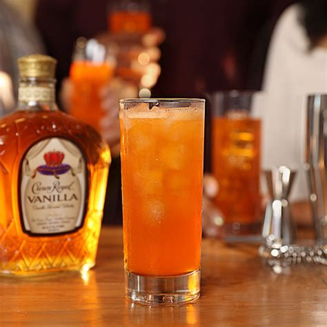 Happy Hour Vanilla Rum Colas by Try Our Crown Royal Orange Soda Cocktail With