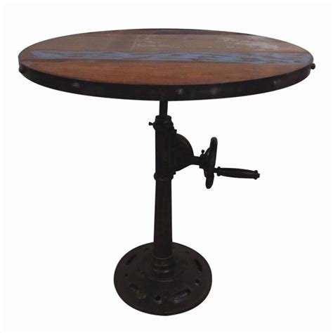 Pub Table Base by Yosemite Adjustable Pub Table With Iron Base Yfur Sba5345