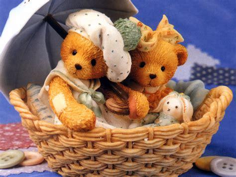 wallpaper of couple teddy bear cute teddy bears wallpapers wallpapersafari