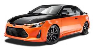 scion sports car orange and black scion tc sports car png image pngpix