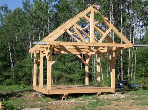 How To Build A Post And Beam Shed post and beam construction search shed