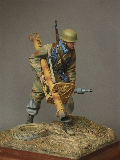 Painting 00 Scale Figures by Shermans Ww Ii Soldiers Figures