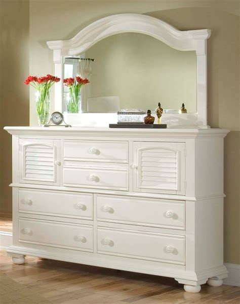 White Bedroom Dresser With Mirror Home Furniture Design Dresser In Bedroom