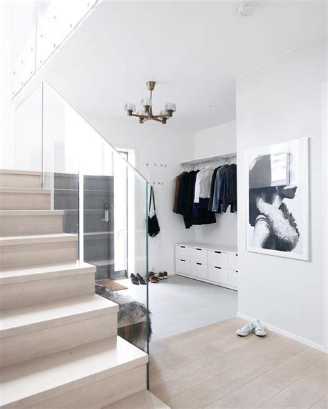 Wood Banisters For Stairs Ikea Nordli Annabylove Entreen Pinterest Glasses