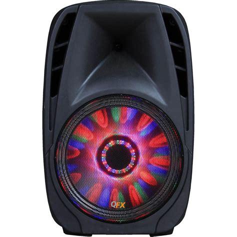 britelite irocker portable bluetooth dj speaker with led lighting qfx portable bluetooth party speaker with led pbx