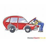 Kfz Werkstatt Clipart Bild Grafik Cartoon Illustration Gratis