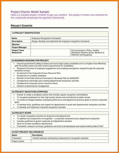 Project Charter Template Pdf Ppt Free Project Charter Template Pmi