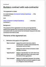 builder contract template builder terms and conditions template contract for services