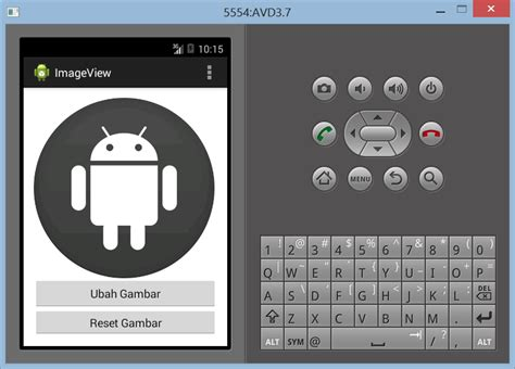 membuat website di android membuat imageview di android