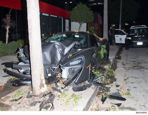 terrence j car ex bet host terrence j s 200 000 car destroyed as driver