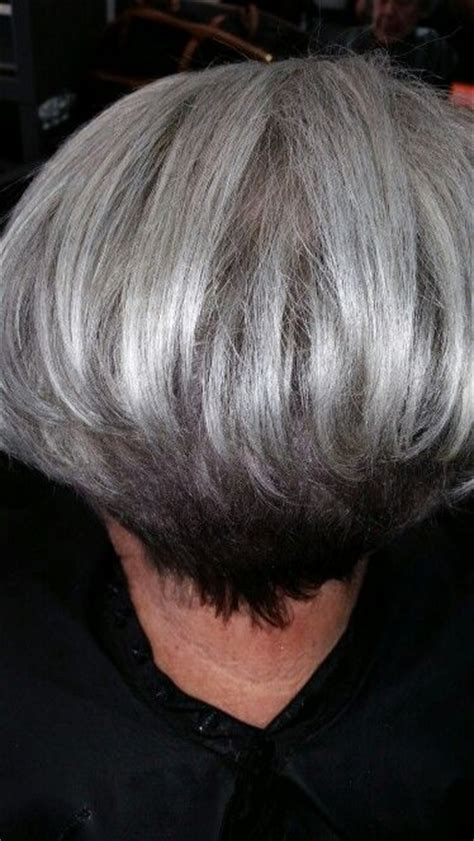 pics of lo lites in short white hair 16 best gray hair styles images on pinterest short bobs
