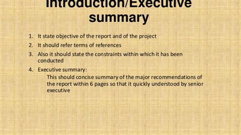Exle Of Introduction In Report by Introduction Overview Feasibility Report Basic Concepts