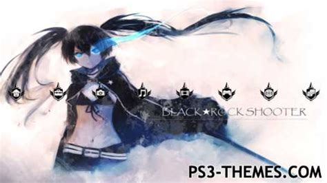 themes in black rock ps3 themes 187 black rock shooter 3