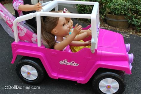 18 inch doll jeep s 4 215 4 cruiser for 18 dolls review doll diaries