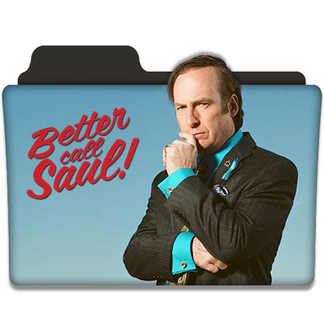 Tv Series Better Call Saul better call saul tv series folder icon v2 by dyiddo on