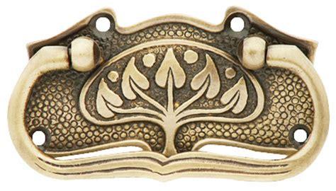 leaf pattern cabinet hardware 3 3 4 inch leaf pattern solid brass drawer pull hand