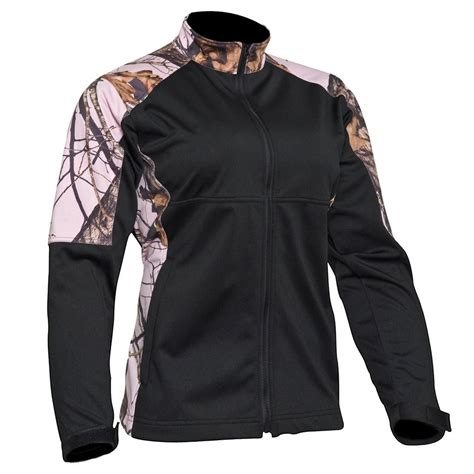 pink mossy oak jacket mossy oak pink jacket womens softshell windproof coat