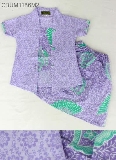 Setelan Kebaya Katun Tarya Orange setelan anak kebaya pendek motif kipas setelan murah batikunik