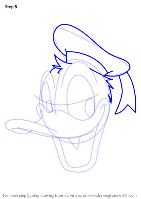 learn how to draw mickey mouse step by step easy drawing learn how to draw donald duck face from mickey mouse