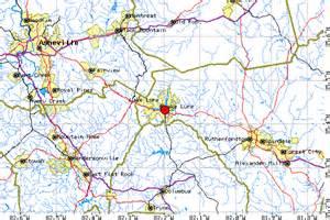 lake lure carolina map directions to lake lure and chimney rock nc