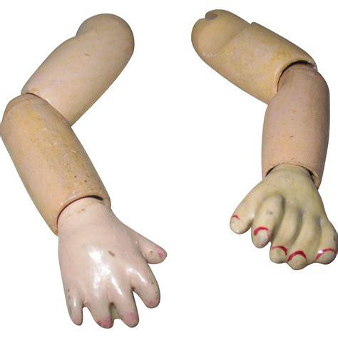 composition doll arms composition doll arms from atticangel on ruby