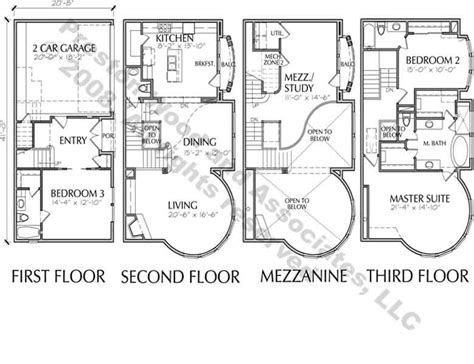 luxury townhome floor plans 25 genius luxury townhouse designs home building plans