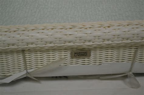 White Wicker Patio Table Charlottetown White All Weather Wicker Patio Coffee Table Ebay