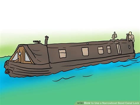 clipart narrow boat how to use a narrowboat sized canal lock 9 steps with