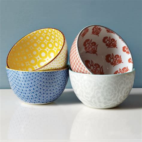 net pattern bowl modernist colorful pattern bowls holycool net