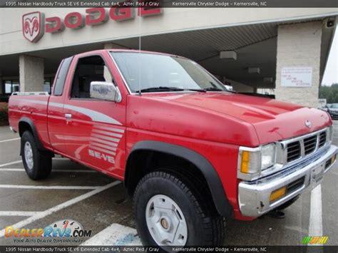 gray nissan truck 1995 nissan hardbody truck se v6 extended cab 4x4 aztec
