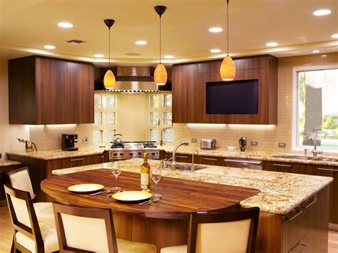Built In Kitchen Islands With Seating 20 kitchen island with seating ideas home dreamy