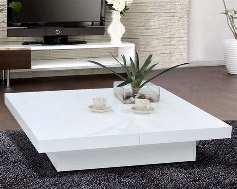 White Living Room Table Coffee Tables Ideas Popular Items White Contemporary Coffee Table Suitable For Living Room
