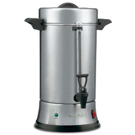 Coffee Urn waring wcu550 55 cup coffee urn w dual heater system