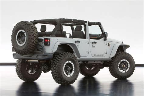 mopar jeep jeep 174 and mopar reveal six new concept vehicles cartype