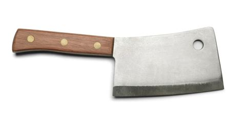 do you use an american butcher knife in your kitchen leave it to cleaver meat cleaver that is