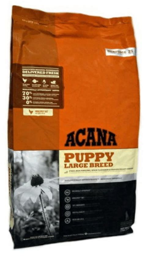 acana puppy large breed acana heritage puppy large breed 11 4kg acana getreidefrei