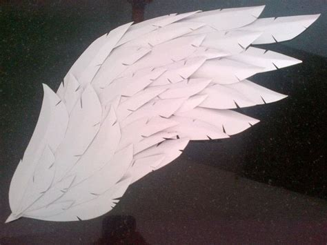 thesis statement for a with wings paper craft foam wings 183 how to make a wing 183 papercraft