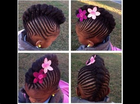 braided hairstyles for little girls : your kid's