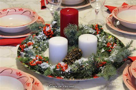 centro tavola natalizio fai da te gioie in cucina