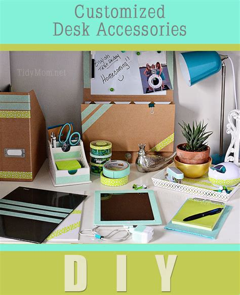 Customized Desk Accessories with Diy Desk Accessories Pinterest Images