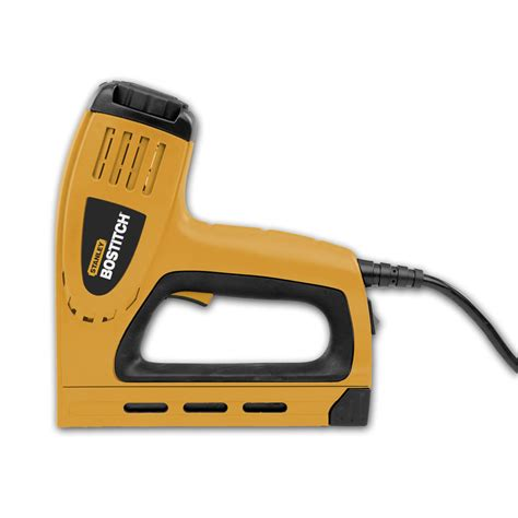 shop bostitch 5 8 in electric staple gun at lowes com
