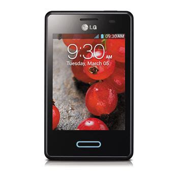 lg l3 ii e430, 4gb, android 4.1 jelly bean smartphone