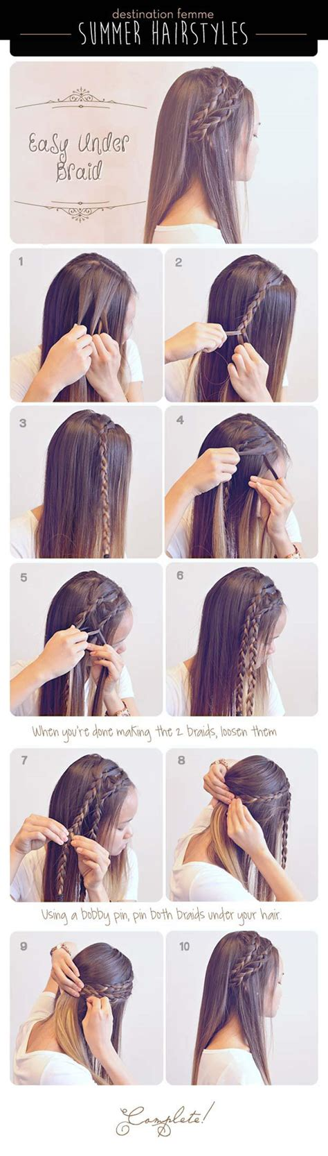 Cute Braided Hairstyles For Wet Hair Inspirational Cute | inspiring of the best cute hair braiding diy projects for