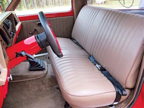 ranger bench seat custom 1984 ford ranger feature truck mini truckin