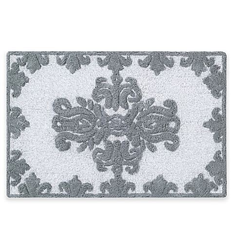 Silver Bathroom Rugs J New York Colette 30 Inch X 20 Inch Bath Rug In