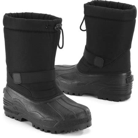mens snow boots walmart s winter snow boots walmart