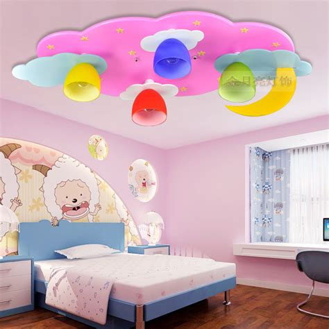 Childrens Bedroom Lights Children S Room L Led Ceiling Lights Boys And Bedroom Room Light Pink Blue