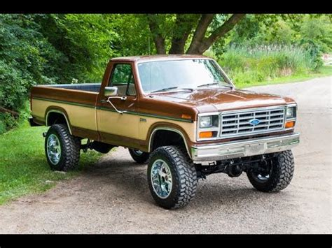 1985 ford pickup for sale youtube