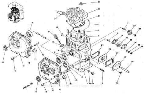 robinsubaru ey  parts diagram  crankcase
